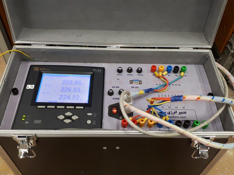 نمونه دستگاه کیفیت توان پرتابل